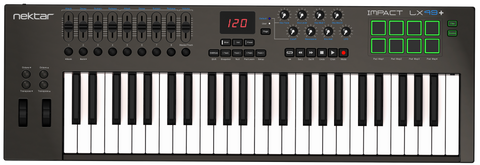 Nektar Impact LX49+ (49 note USB midi keyboard with pads)