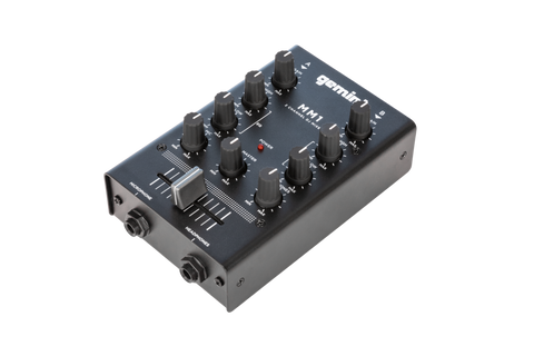 Gemini MM1 - 2 Channel Analog Mini DJ Mixer