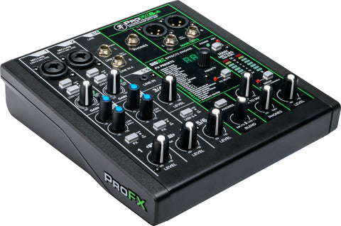 Mackie ProFX6v3 - Professional Effects Mixer w/USB