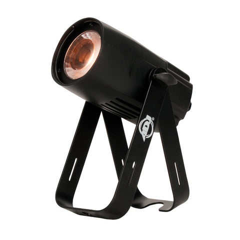 American DJ Compact Spot Fixture with 15-Watt Warm White LED, 20 Degree Beam, Dim to Warm Effect - Image 1