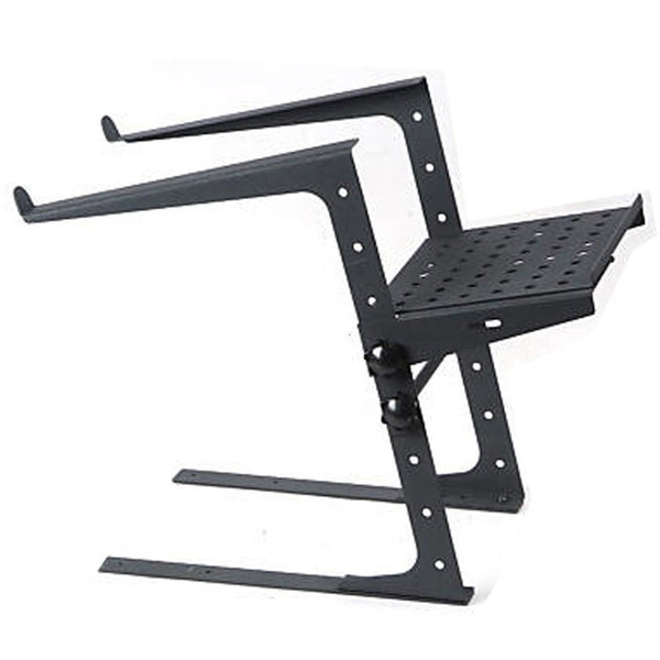 Portable Laptop Stand W/Adjustable Shelf BLACK