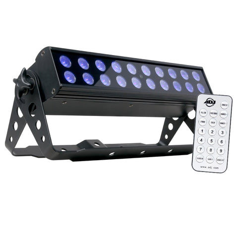 American DJ UV High Powered Fixture with 20x1W UV LED, 10x40 Degree Beam Angle - Image 1