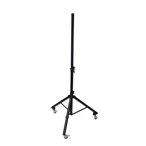 Adjustable Speaker Lighting Tripod Stand with Casters