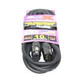 10 Ft. DMX XLR5-M to XLR5-F High Performance Cable