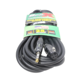 "25 Ft. Balanced 1/4"" TRS to XLR3-F High Performance Audio Cable"