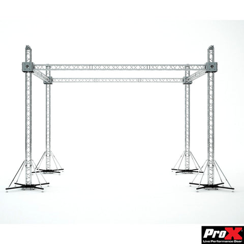 ProX Stage Roofing System 30'W x 20'L x 23'H - Incl 4 Chain Hoist - Image 1
