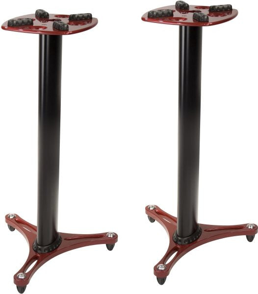 "Ultimate Support MS9036R MS-90-36 Studio Monitor Stand 36"";  PAIR;  Red"