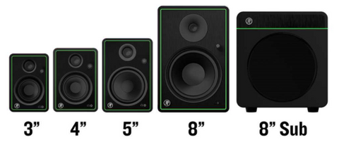 Mackie CR-X Creative Reference Multimedia Monitors