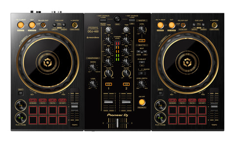 Pioneer DJ DDJ-400-N Limited Edition Gold 2 Channel Rekordbox Controller