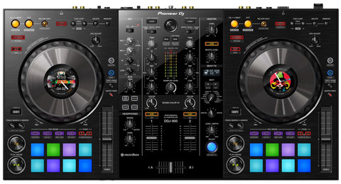 Pioneer DDJ-800 2 channel portable DJ controller for rekordbox DJ