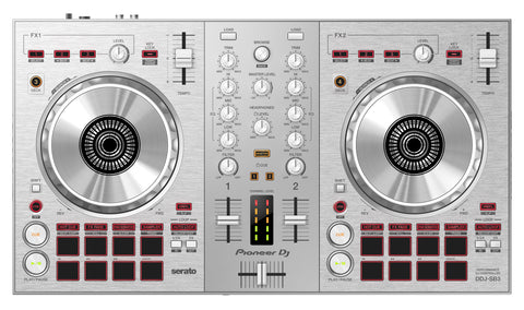 DDJ-SB3-S Limited Edition Silver 2-channel DJ controller for Serato DJ Lite