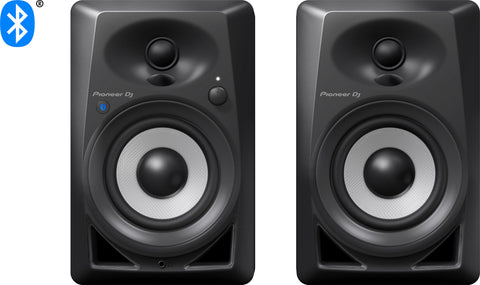 "Pioneer DJ DM-40BT 4"" Desktop Monitor Speakers"