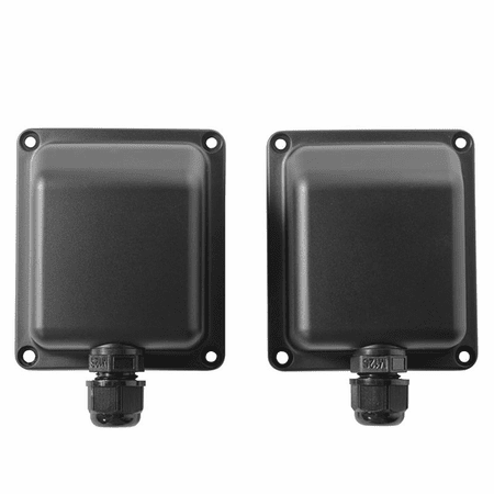 "Electro Voice WC-58B F.01U.344.847 Black Weather Covers for EVID-S 5"" & 8"" Speakers (2 pair) - Image 1"
