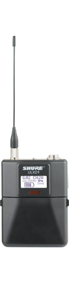 Shure G50 Digital Wireless Bodypack Transmitter with LEMO3 Connector - Image 1
