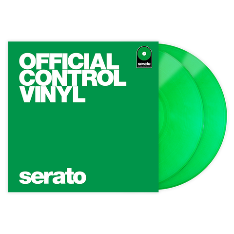 Serato Performance Vinyl - Green (Pair)