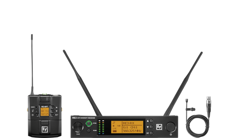 RE3-BPOL UHF Wireless Omni Lavalier Mic
