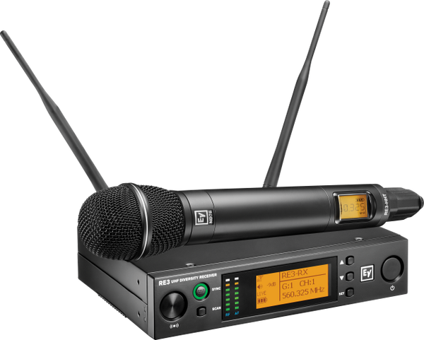 RE3-ND76 UHF Wireless Handheld Dynamic Cardioid Mic