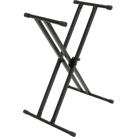 Ultimate Support IQ-X-2000 Double-Braced X-Style Keyboard Stand with Memory Lock System - Image 1