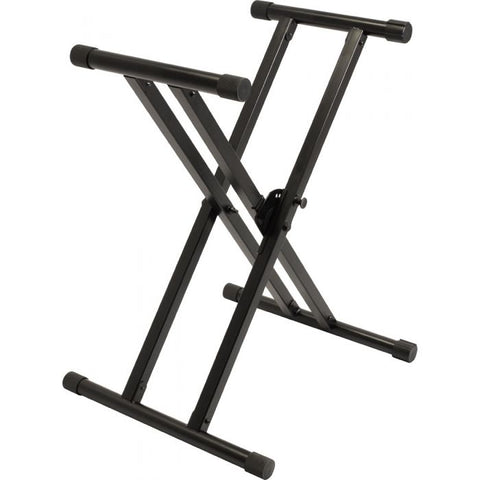 Ultimate Support IQ-X-3000 X-style Keyboard Stand with Patented Memory Lock System - Image 1