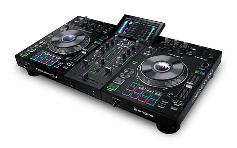 Denon DJ Prime 2 - 2 Deck Smart DJ Console with 7