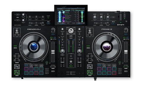 "Denon DJ Prime 2 - 2 Deck Smart DJ Console with 7"" Touchscreen"
