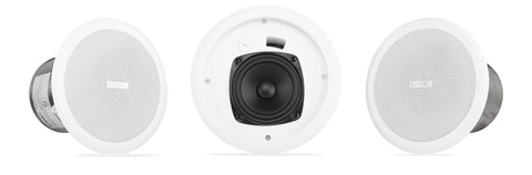 "4.5"" Full-range Ceiling Speaker with 70/Image 100V Transformer - Image 1"