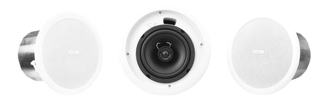 "6.5"" Two-way Ceiling Speaker with 70/Image 100V Transformer - Image 1"