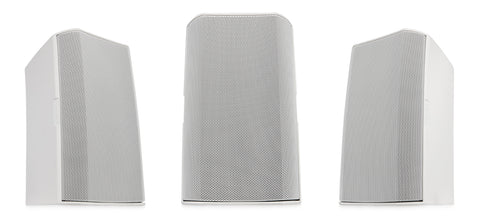 "Image 12"" Two-Way Surface Mount Loudspeaker with 75ø Conical DMT Coverage - White - Image 1"