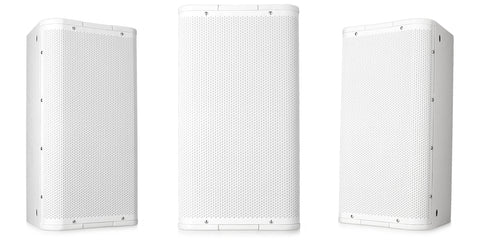"Dual Image 10"" High-Output Two-Way Surface Speaker with Image 105ø Conical DMT Coverage - White - Image 1"