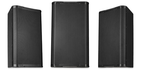 "Image 12"" High-Output Two-Way Surface Speaker with 90ø Conical DMT Coverage - Black - Image 1"