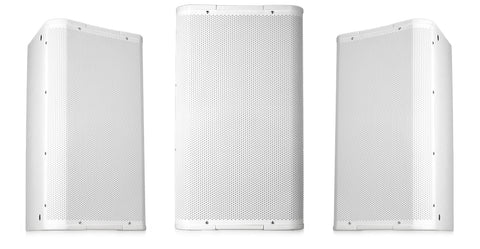 "Image 12"" High-Output Two-Way Surface Speaker with 90ø Conical DMT Coverage - White - Image 1"
