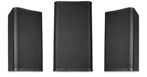 "Image 15"" High-Output Two-Way Surface Speaker with 75ø Conical DMT Coverage - Black - Image 1"