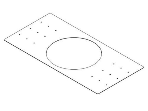 Electro Voice Rough-In Mounting Plate for New Construction for Use With The Evid Pc6.2 (Package Of 4) - Image 1