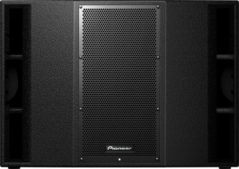 Pioneer XPRS 215S Twin 15 Inch Active Subwoofer