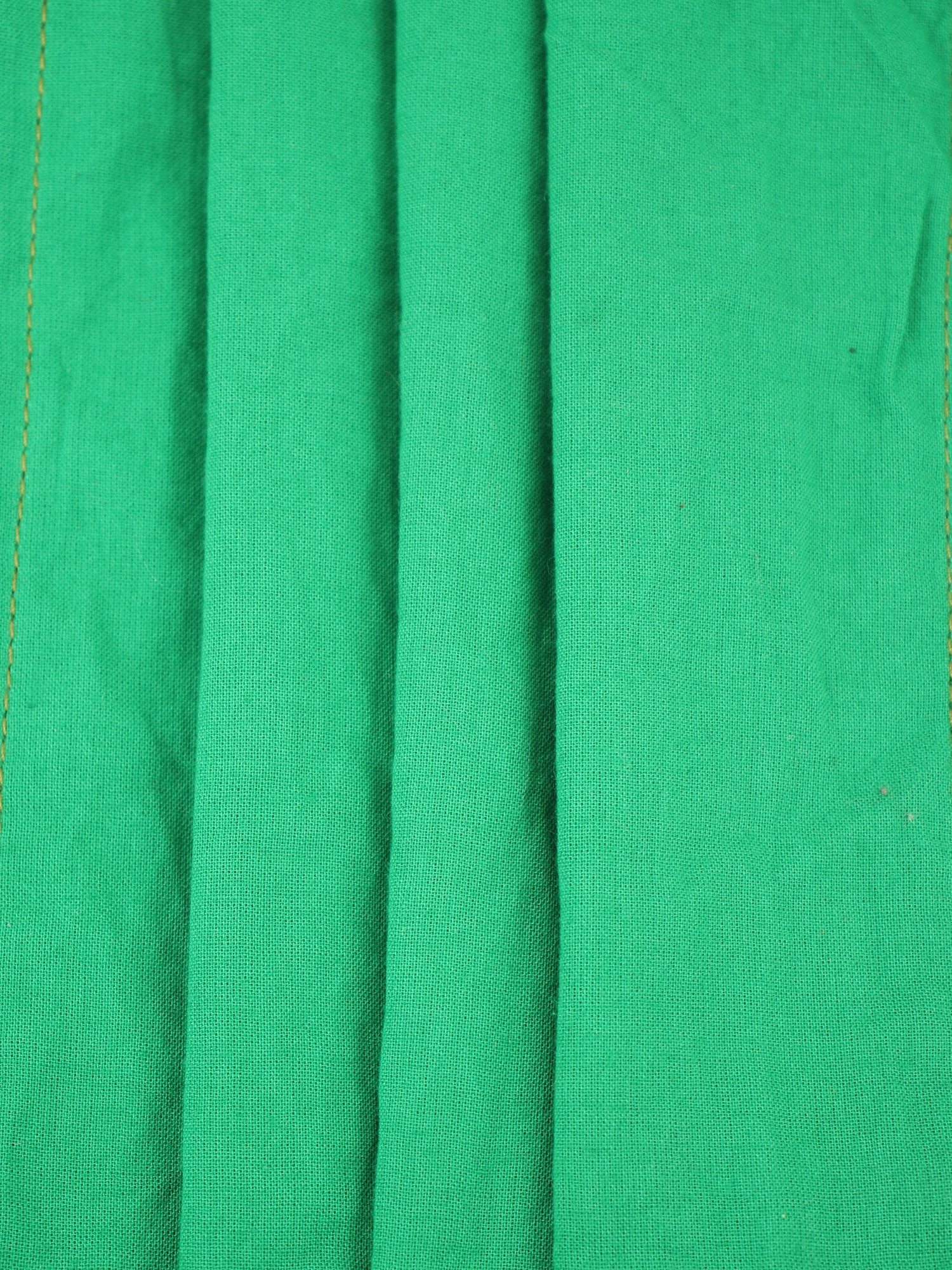 Solid Green  - Set of 2 Masks