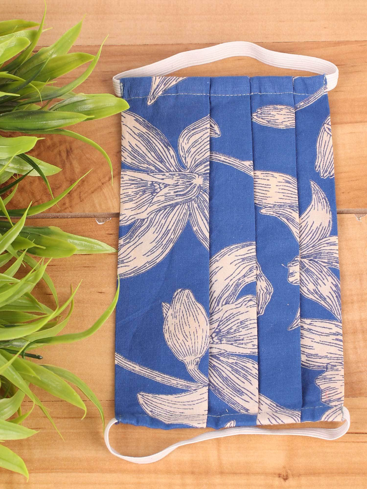 Indigo Blooms - Set of 2