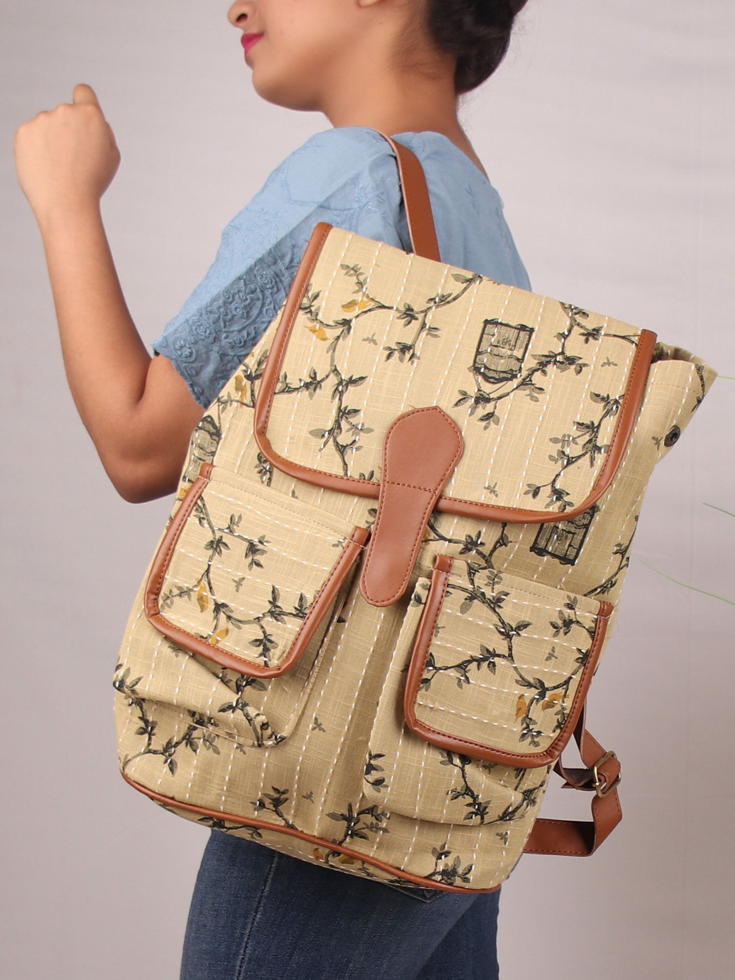 NOMADIC BEIGE BACK PACK