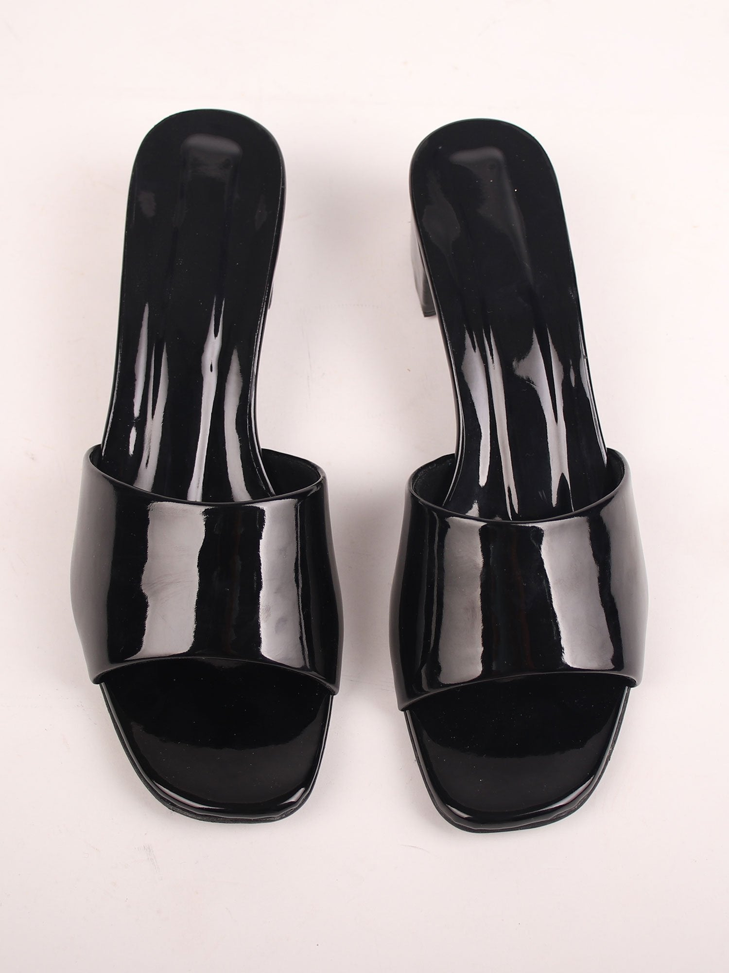 METROPOLIS BLOCK HEELS IN BLACK