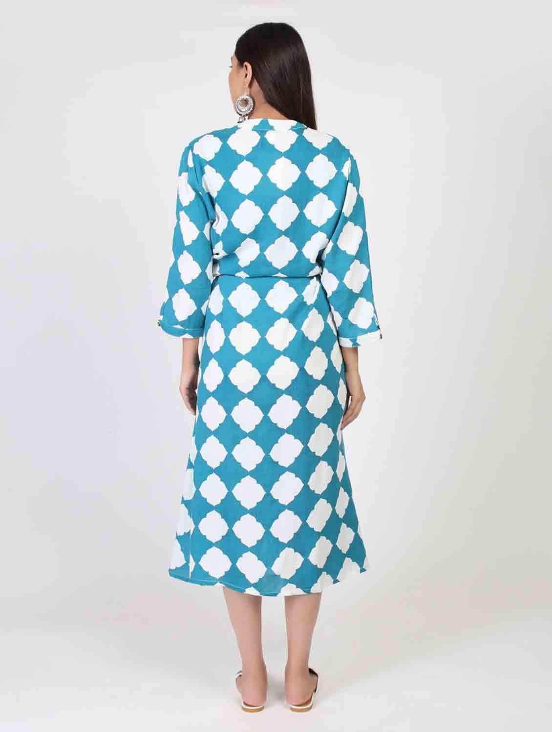 SKYLY BLOCK DRESS