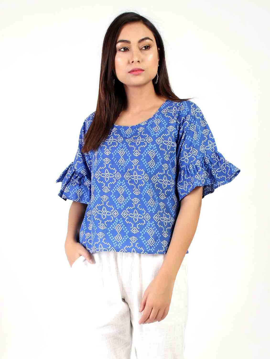 DECADENCE PRINTED TOP