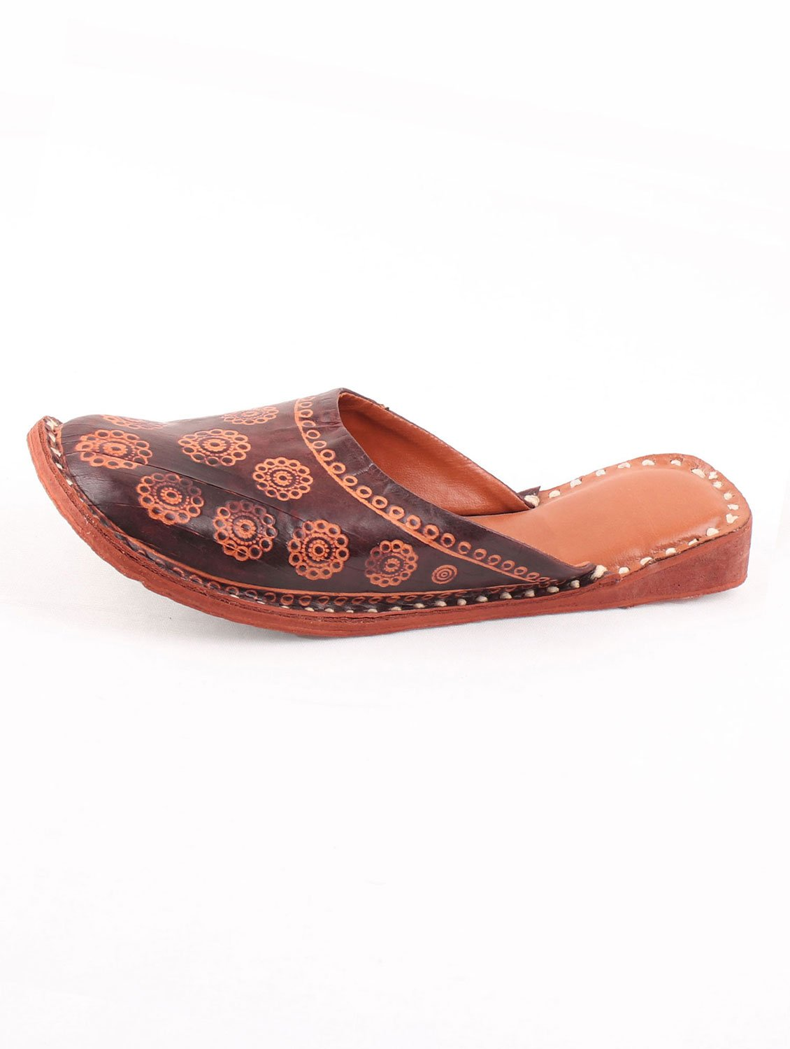 OUTLANDISH PRINTED MULES
