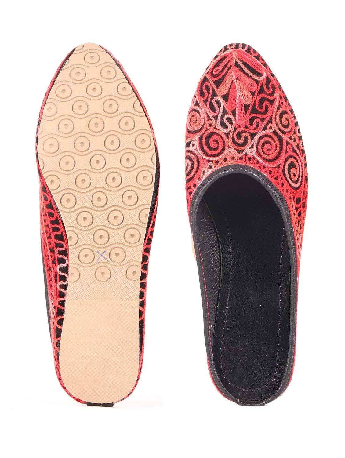 LANDISH RED MULES