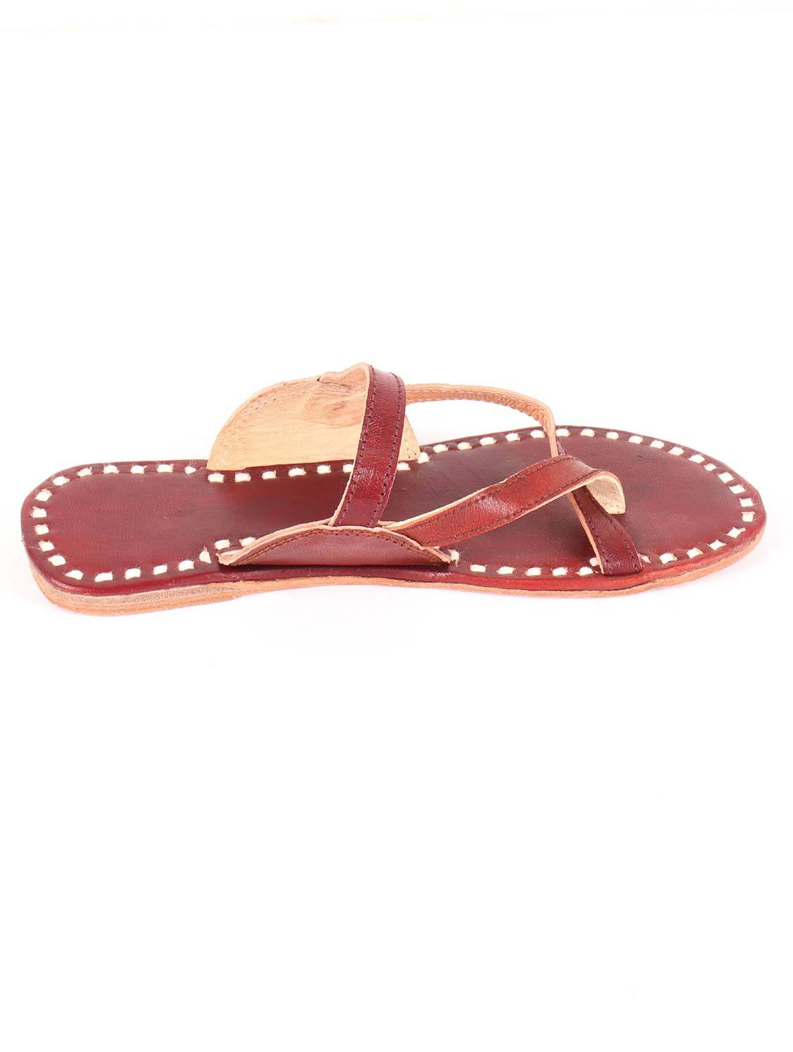 SANGARIA STRAPPED FLATS