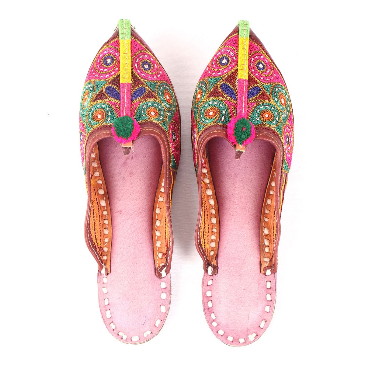 CRENICAL EMBROIDERED MULES