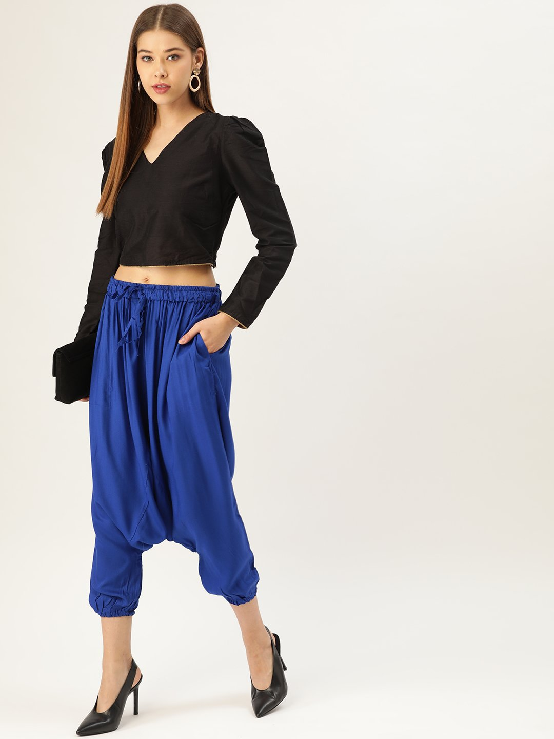 Harem Pants - Indigo Blue