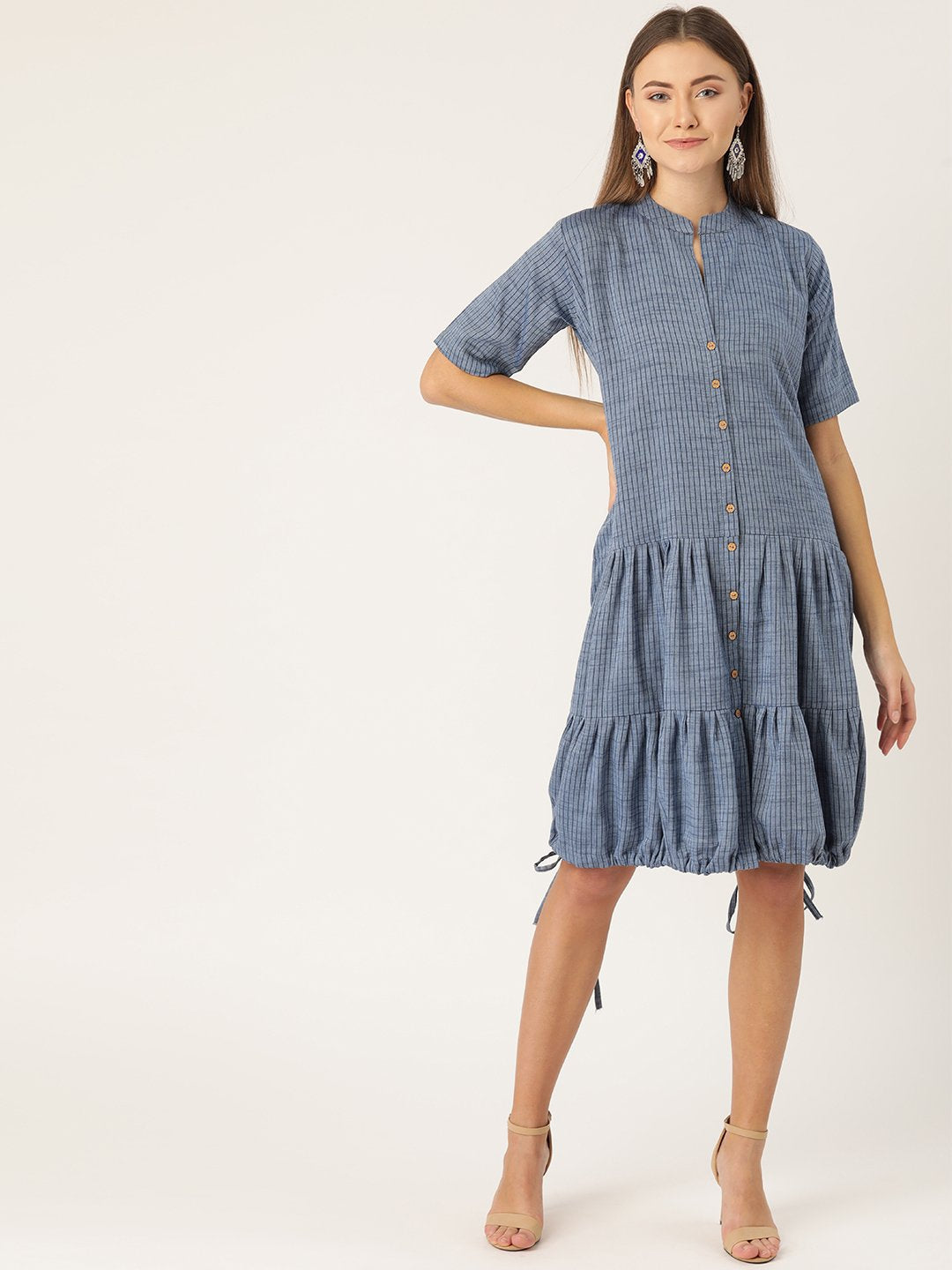 Dress In Denim Blue