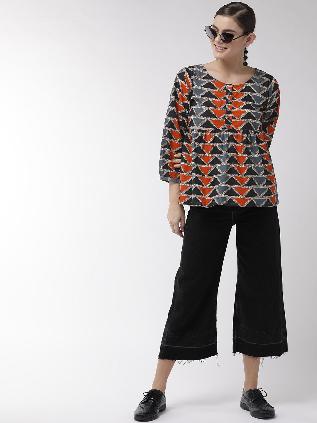 Geometric Abstract Top