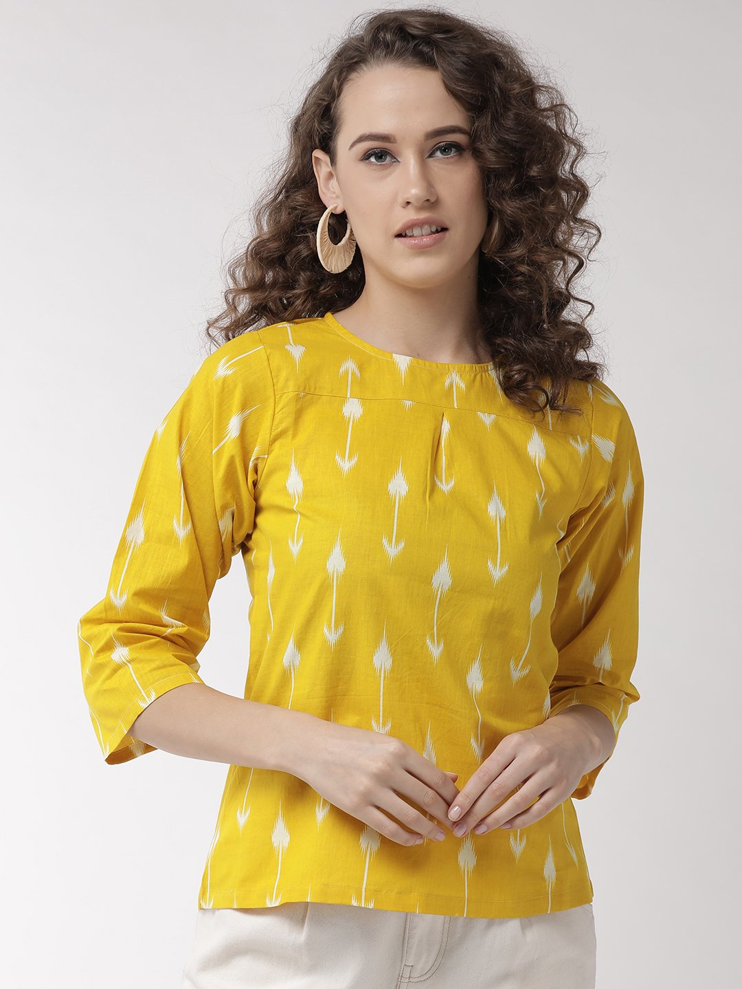 Yellow Arrow Top