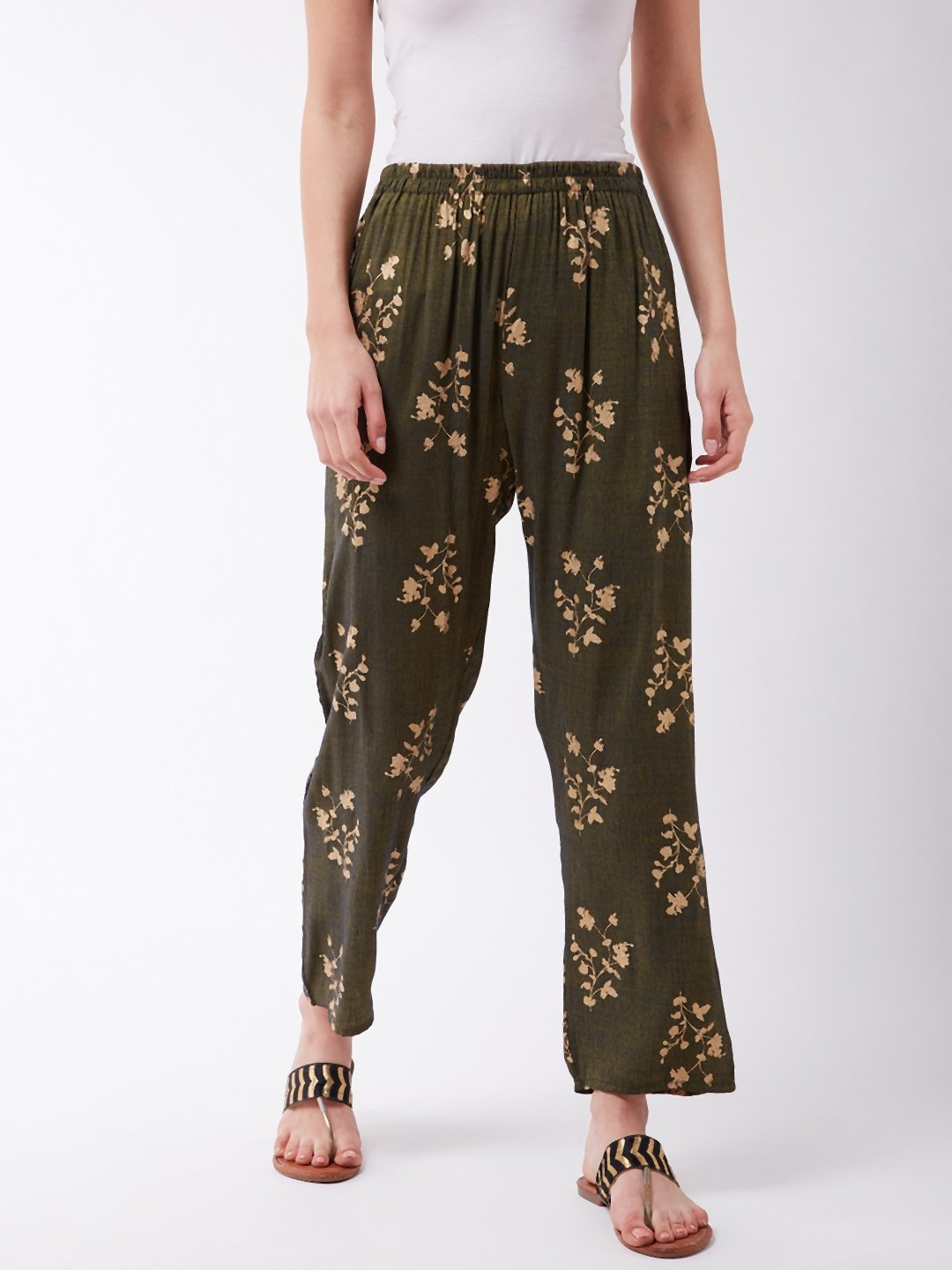 Green Gold Work Pant