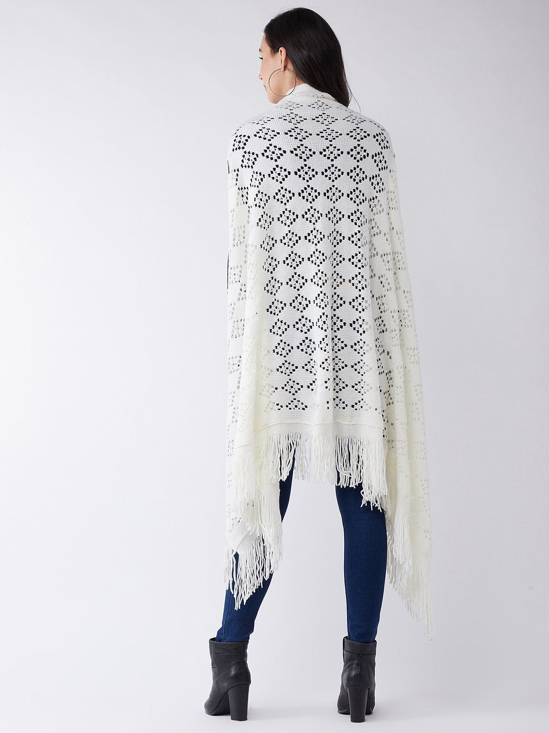 White Winter Shrug